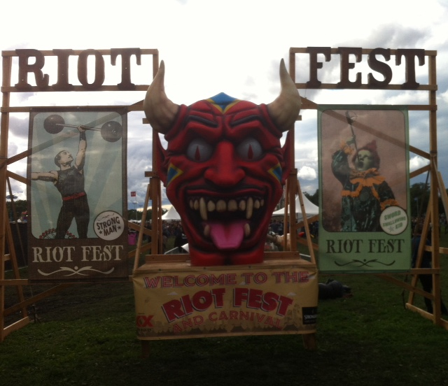 RiotFestSign